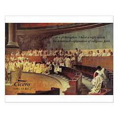 Cicero: Philosophy Religion Posters
