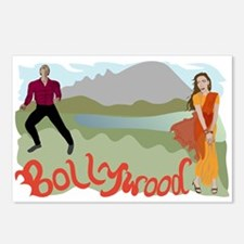 Singing Bollywood Postcards (Package of 8)