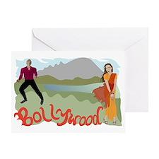 Singing Bollywood Greeting Card