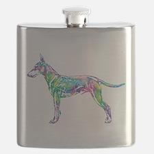 Standard Manchester Terrier Flask
