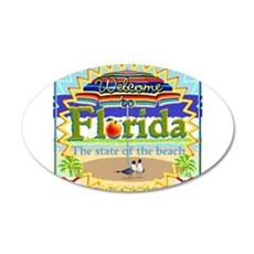 Welcome to Florida Wall Decal