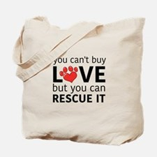 you can't buy love Tote Bag