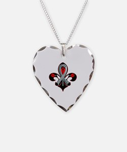 Cute Diseases Necklace Heart Charm