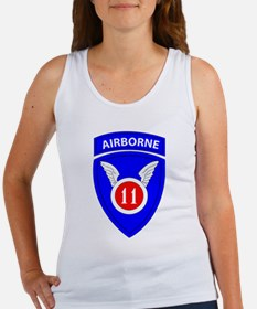 11th Airborne Division Emblem Women's Tank Top