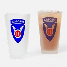 11th Airborne Division Emblem Drinking Glass