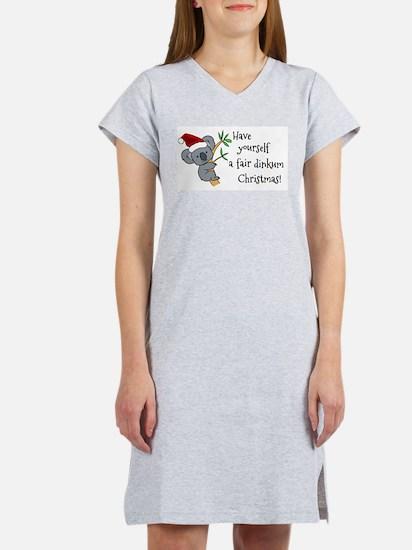 Australian Christmas - Koala Santa T-Shirt