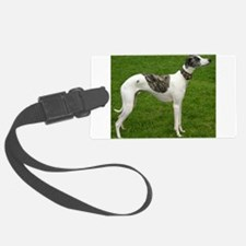 whippet full Luggage Tag