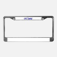 other License Plate Frame