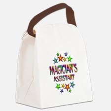 Magician Assistant Canvas Lunch Bag