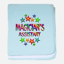 Magician Assistant baby blanket