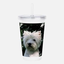west highland white terrier Acrylic Double-wall Tu