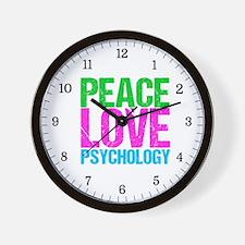 Cool Psychology Wall Clock