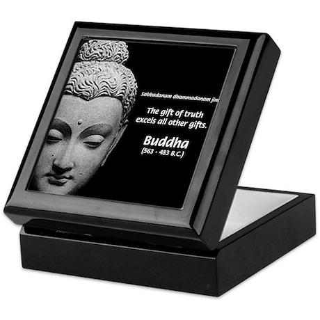 Buddhist Religion: Gift of Truth Keepsake Box