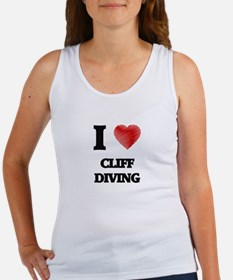 I love Cliff Diving Tank Top