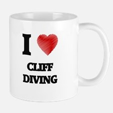 I love Cliff Diving Mugs