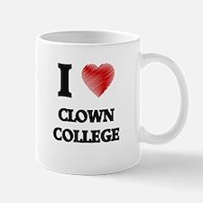I love Clown College Mugs