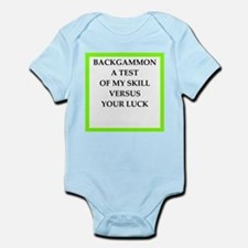 backgammon joke n gifts and t-shirts. Body Suit