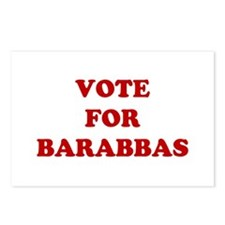 Vote For Barabbas Postcards (Package of 8)