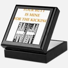 backgammon joke n gifts and t-shirts. Keepsake Box