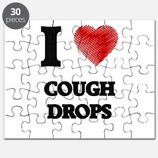 I love Cough Drops Puzzle