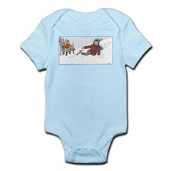 1930's Snow Fun #3 Infant Bodysuit
