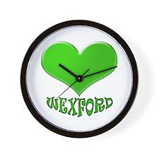 LOVE WEXFORD Wall Clock