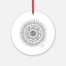mandala Round Ornament