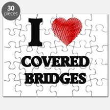 I love Covered Bridges Puzzle