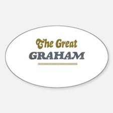 Graham Oval Decal
