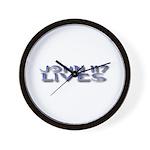 John 117 Lives Wall Clock