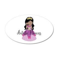 Autistic Princess Ethnic Wall Decal