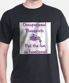 Occupational Therapist Ash Grey T-Shirt