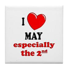 May 2nd Tile Coaster