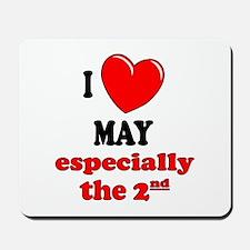 May 2nd Mousepad