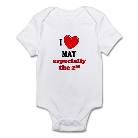May 2nd Infant Bodysuit