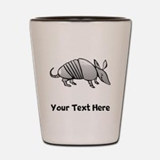 Grey Armadillo (Custom) Shot Glass