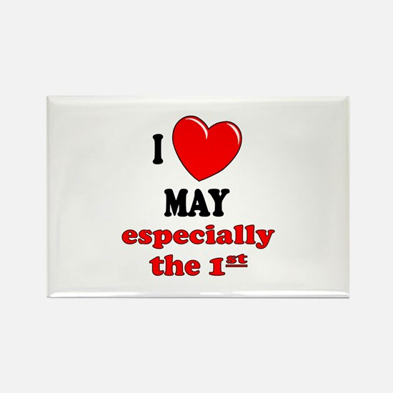 May 1st Rectangle Magnet (10 pack)