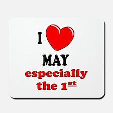 May 1st Mousepad