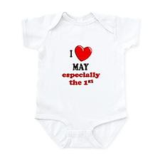 May 1st Infant Bodysuit