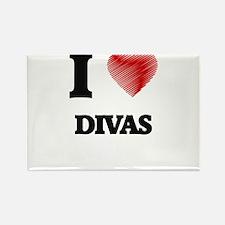 I love Divas Magnets