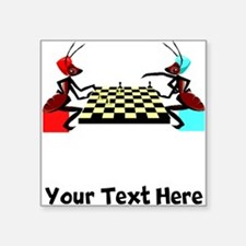 Ants Playing Chess (Custom) Sticker