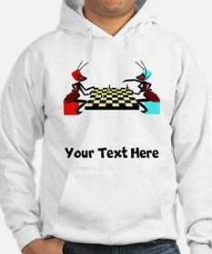 Ants Playing Chess (Custom) Hoodie
