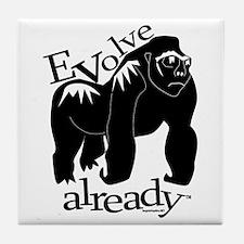 Evolve already gorilla Tile Coaster