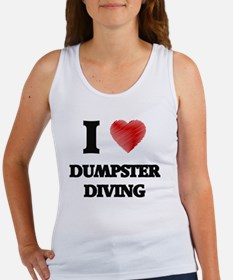 I love Dumpster Diving Tank Top