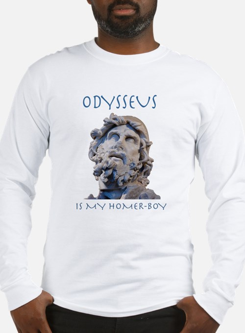Odysseus Is My Homer-Boy Long Sleeve T-Shirt