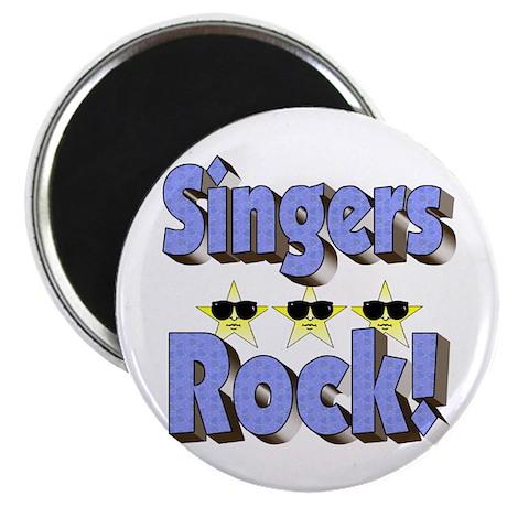 Singers Rock! Magnet