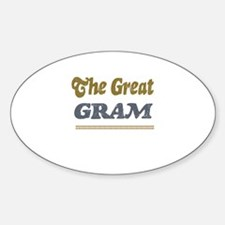 Gram Oval Decal