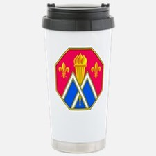 89th Infantry Division Stainless Steel Travel Mug