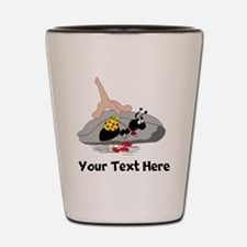 Ant Hitchhiking (Custom) Shot Glass
