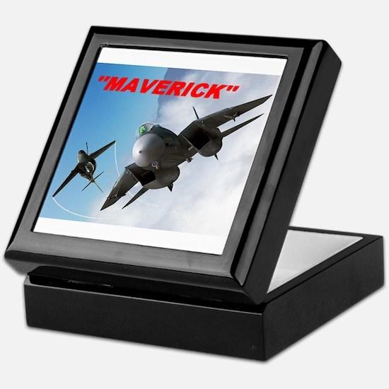 Unique Maverick Keepsake Box